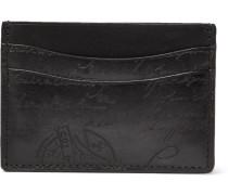 Scritto Leather Cardholder - Black