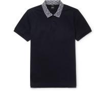Philipson Slim-fit Contrast-trimmed Cotton-piqué Polo Shirt