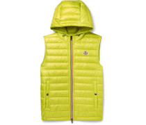 Gien Slim-fit Quilted Shell Hooded Down Gilet