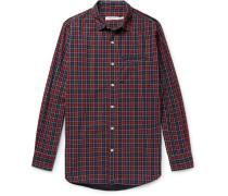 Gardener Checked Cotton-poplin Shirt