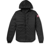 Lodge Slim-Fit Nylon-Ripstop Hooded Down Jacket
