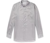 Slim-Fit Cupro Shirt
