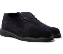 Suede Chukka Boots - Midnight blue