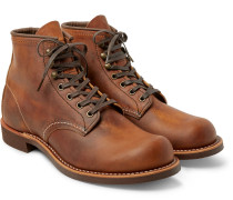 3343 Blacksmith Leather Boots