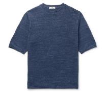 Mélange Linen T-Shirt