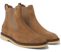 Winter Beatle Walk Suede Chelsea Boots - Tan