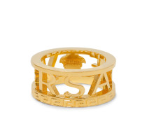 Logo Gold-Tone Ring