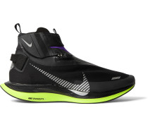 Pegasus Turbo Shield Neoprene High-Top Running Sneakers