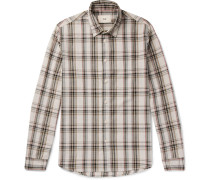 Storm Checked Cotton Shirt