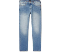 Slim-fit Tapered Denim Jeans
