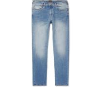Slim-fit Tapered Denim Jeans - Blue
