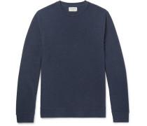 Textured-cotton Sweatshirt