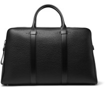 Buckley Full-grain Leather Briefcase - Black