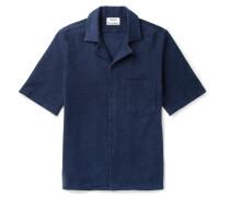 Jef Camp-collar Cotton-terry Shirt