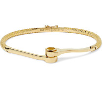 Wrench Gold Bracelet
