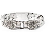 Tiger Sterling Silver Bracelet
