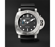 Luminor Submersible 1950 3 Days Automatic 47mm Titanium And Rubber Watch