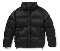 Oversized Quilted Cotton-blend Down Jacket