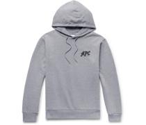 Michel Logo-print Loopback Cotton-blend Jersey Hoodie