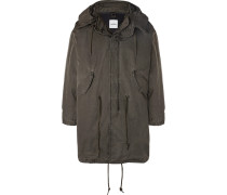 Shell Hooded Parka - Army green