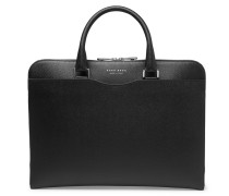 Signature Slim Cross-grain Leather Briefcase