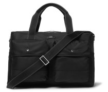 Meridian Leather-Trimmed Shell Holdall