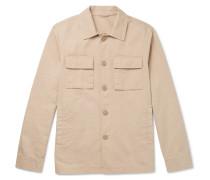 Stonewashed-cotton Jacket