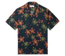 Floral-Print Cotton Pyjama Shirt