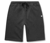 Devon Slim-Fit Brushed Loopback Cotton-Jersey Shorts
