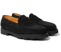 Lopez Suede Penny Loafers