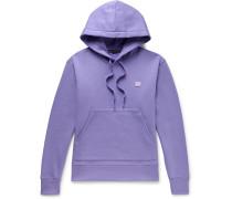 Ferris Logo-Appliquéd Fleece-Back Cotton-Jersey Hoodie