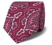 + Turnbull & Asser Rocketman 8cm Silk-Jacquard Tie