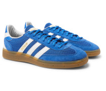 Handball Spezial Suede, Mesh and Leather Sneakers