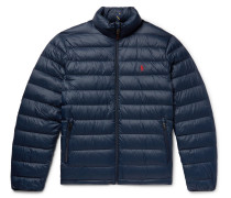 Quilted Shell Down Jacket - Navy