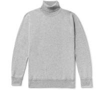 Arvid Mélange Cashmere Rollneck Sweater