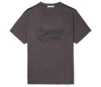 Chambre Séparée Logo-Print Cotton-Jersey T-Shirt
