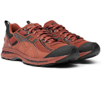 + Kiko Kostadinov Gel-burz 2 Mesh And Leather Sneakers