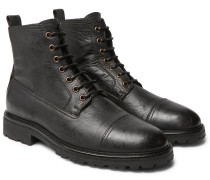 Alperton 2.0 Leather Boots - Black