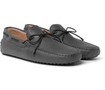 Gommino Full-grain Nubuck Driving Shoes