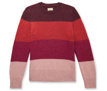 Hampus Striped Knitted Sweater
