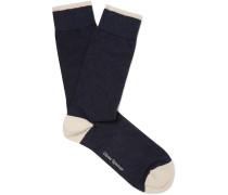 Turton Stretch Cotton-Blend Socks