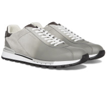Fast Track Torino Suede And Leather Sneakers - Light gray