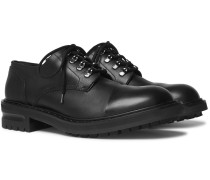 Leather Derby Shoes - Black