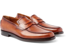 Gianni Leather Penny Loafers