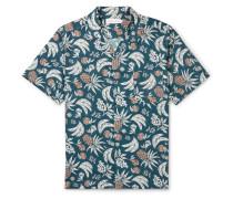 Cuban Printed Cotton Pyjama Shirt
