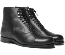 Leander Cap-toe Leather Boots