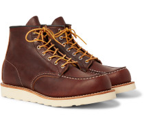 8138 Moc Leather Boots - Brown