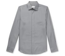 Slim-Fit Silk Shirt