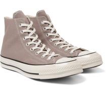 Chuck 70 Canvas High-top Sneakers - Gray