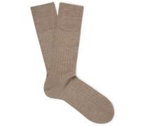 No. 2 Cashmere-blend Socks